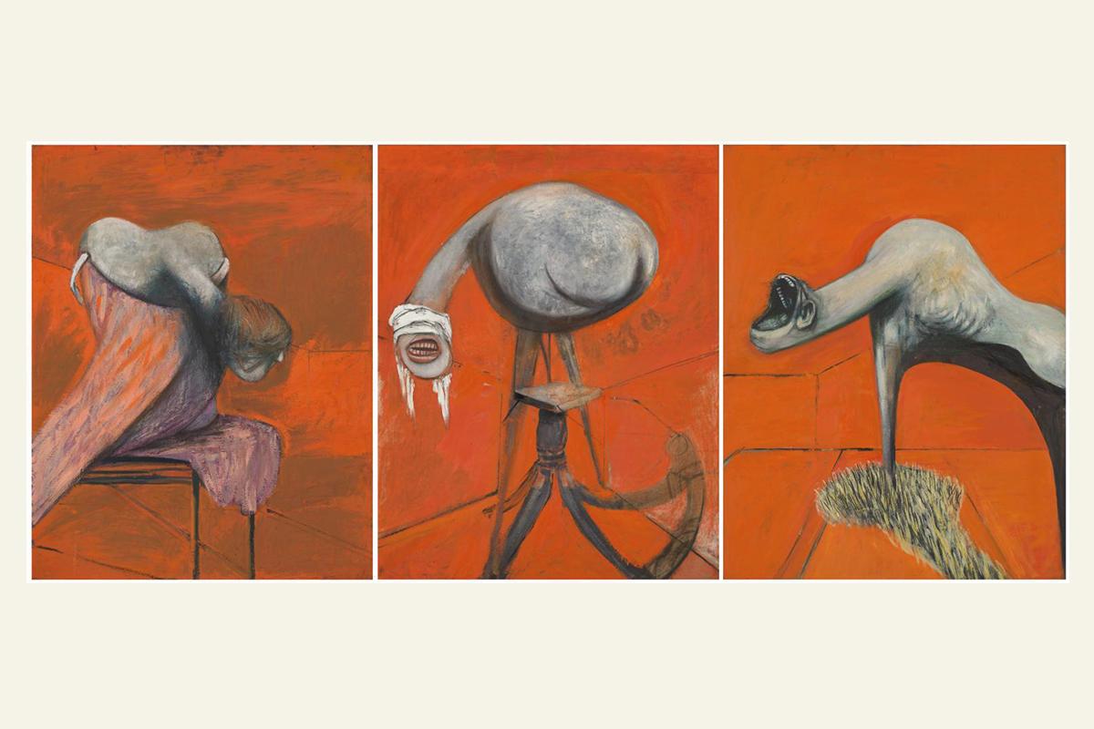 Фрэнсис Бэкон, «Три этюда в ногах распятия»