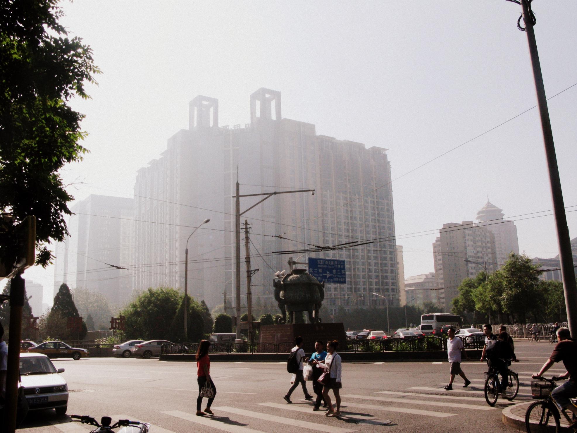 Развязка на Dongzhimen Outer St. . Фото автора