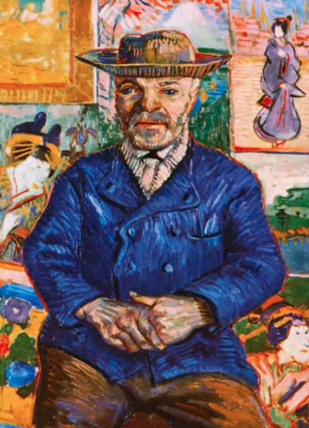 Винсент Ван Гог (1853–1890). Папаша Танги. Около 1887 Холст, масло. Собрание Ставроса Ниархоса