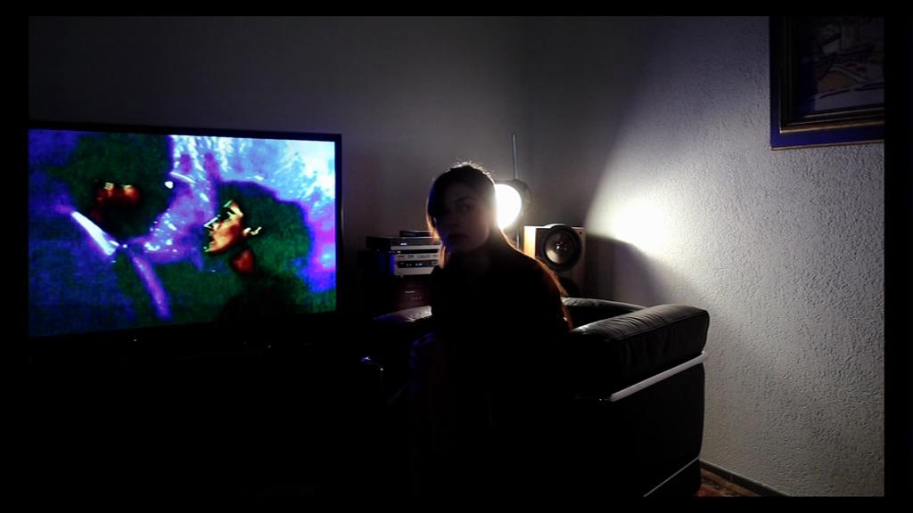 """<i>Кадр из фильма Жана-Люка Годара """"Прощай речь"""" (2014)</i>"""