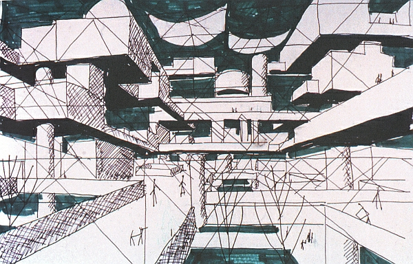 Yona Friedman. Mobile Architecture