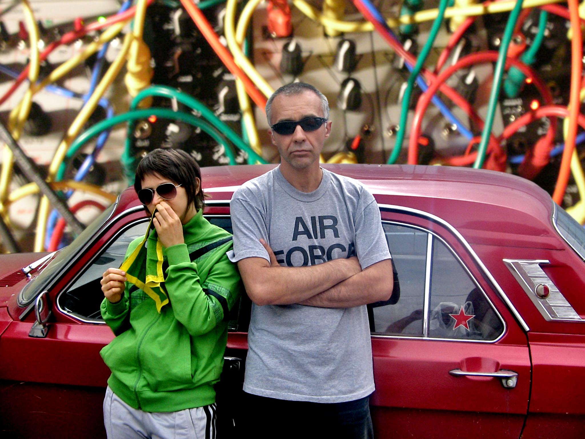 ASTMA: Алексей Борисов и Ольга Носова. Фото: Karry Sarkisyan. Коллаж: Maxim Elyzarov.