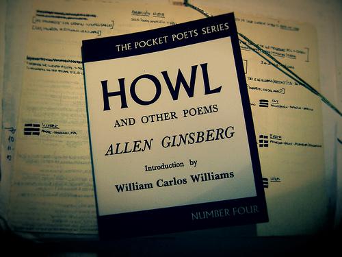 """Фото обложки книги Аллена Гинзберга """"Вопль"""""""