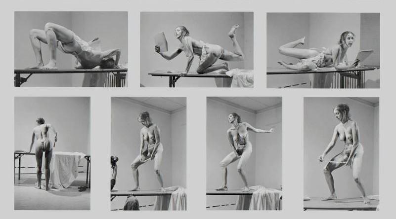 «Внутренний свиток». Кэроли Шниман, 1975