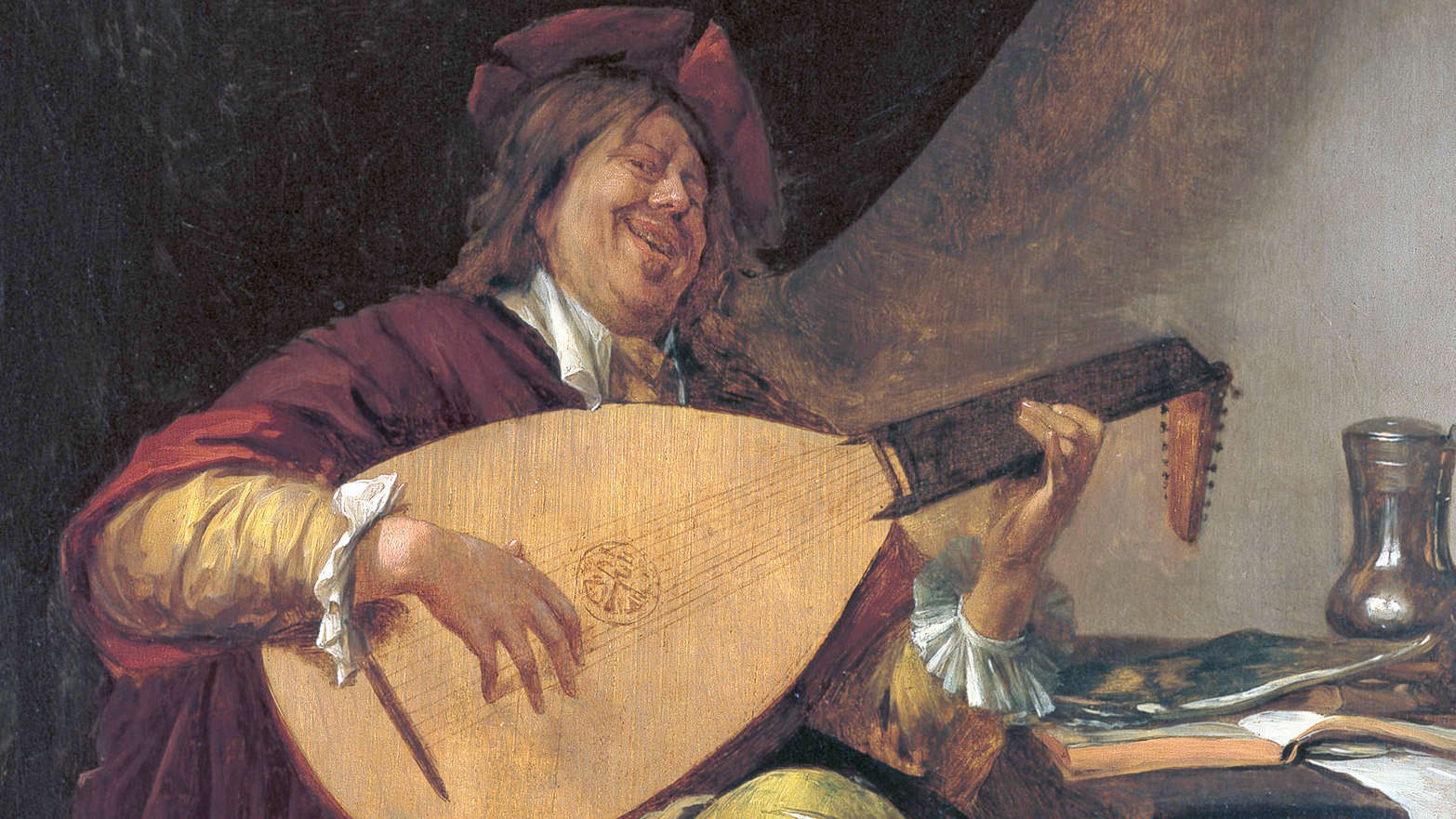 Ян Стен, Автопортрет, III четверть XVII века