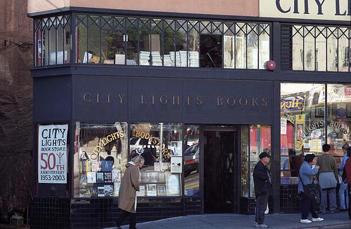 Книжный магазин Ферлингетти.