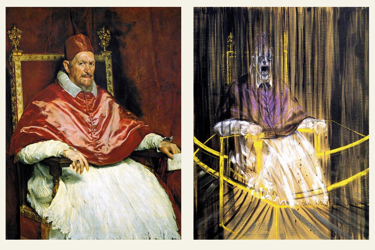 Веласкес vs. Бэкон («Портрет папы Иннокентия X» / «Кричащий папа»)