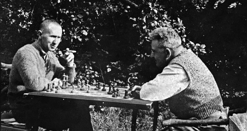 Брехт и Беньямин. 1934