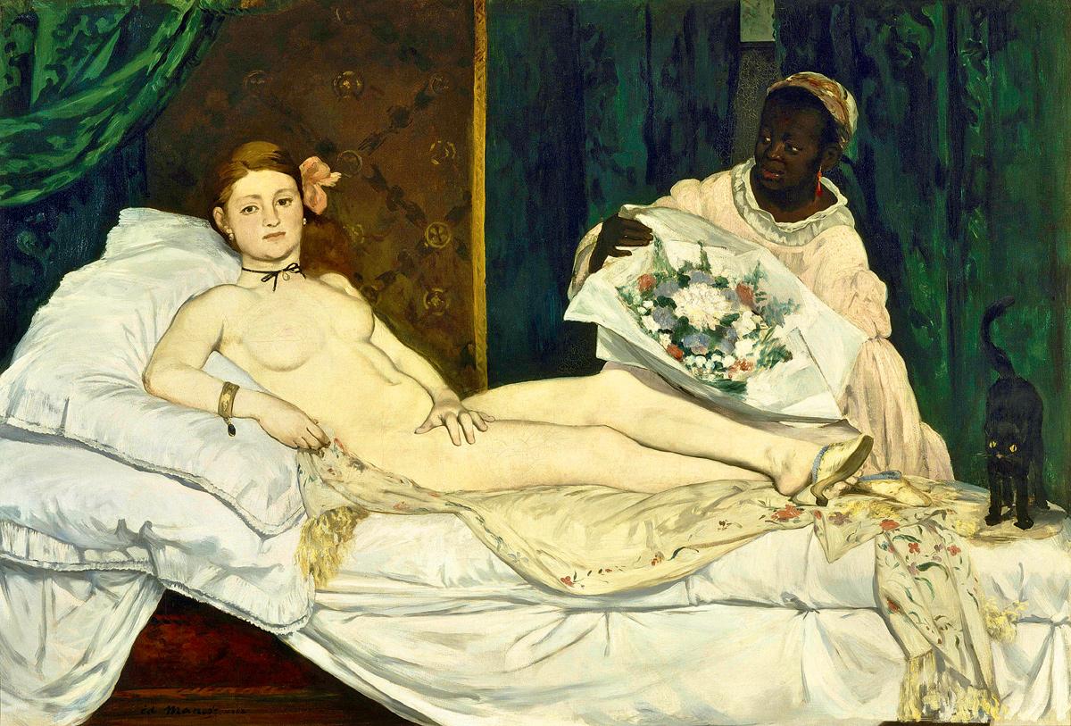 «Олимпия». Эдуард Мане. 1863