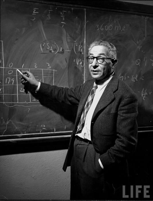 <b>Исидор АйзекРаби, </b><i>американский физик, лауреат Нобелевской премии по физике в 1944 г</i>