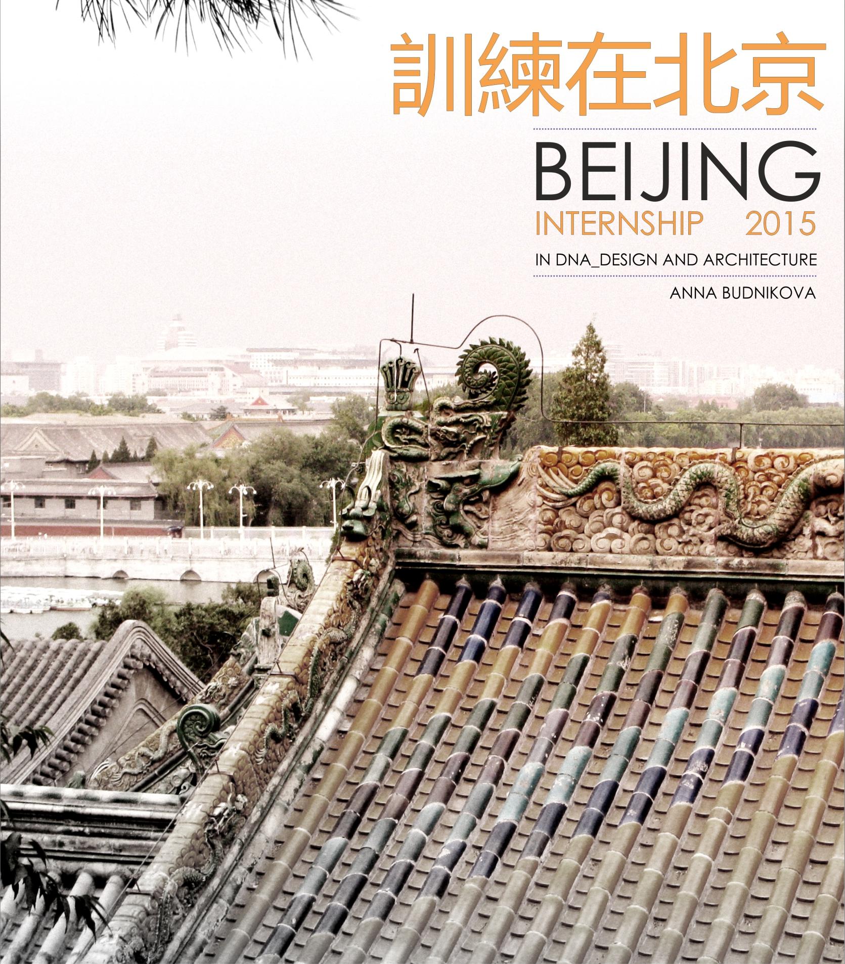 Архитектурная практика Анны Будниковой в офисе DNA_Design and Architecture, Пекин
