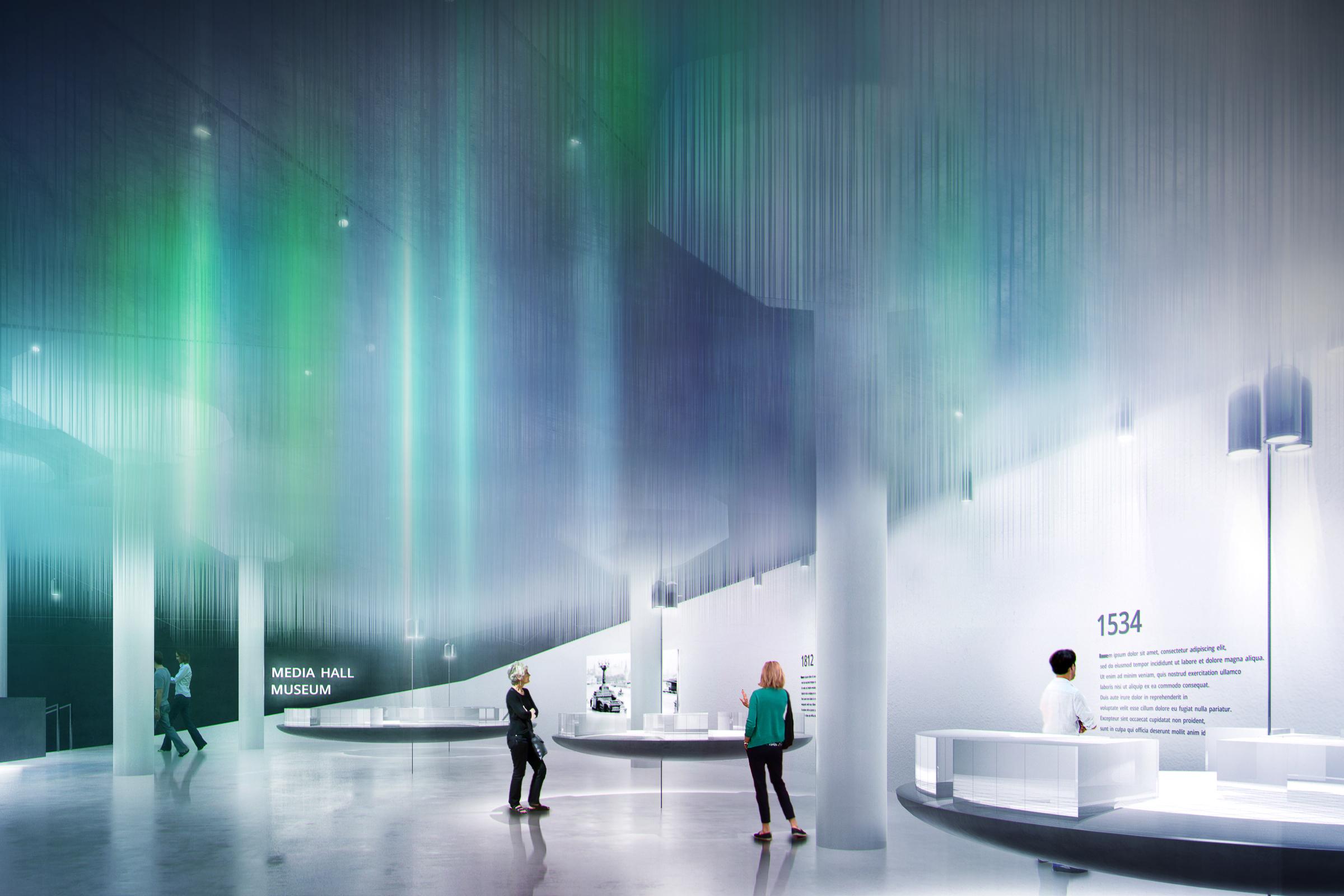Проект парка Зарядье демонстрирует уникальное сочетание климатических зон, технологий, города и природы, Diller Scofidio
