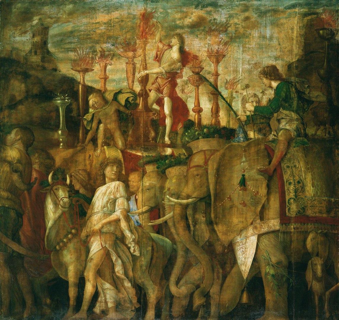Андреа Мантенья (ок. 1431-1506), «Триумфы Цезаря», фрагмент