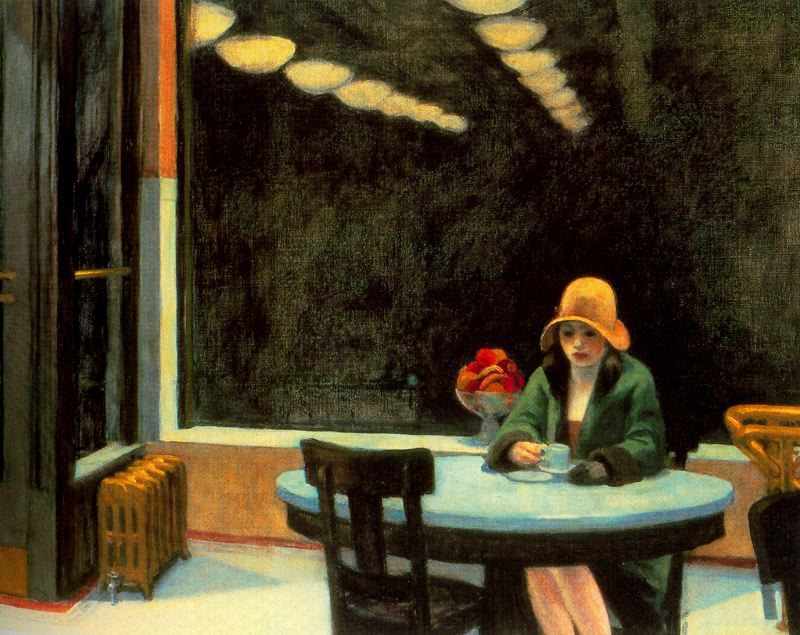Automat. 1927, ныне в коллекции Центра искусств ДеМойна, Айова.