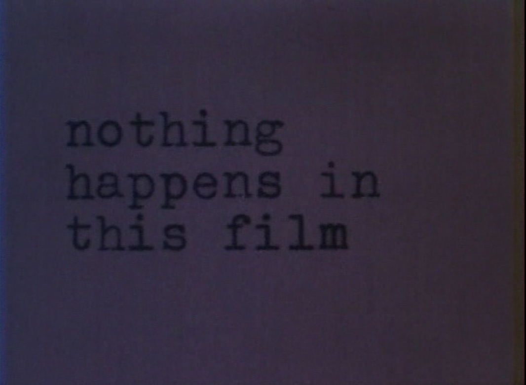 Кадр из фильма <i>As I Was Moving Ahead Occasionally I Saw Brief Glimpses of Beauty</i>. Йонас Мекас. 2000