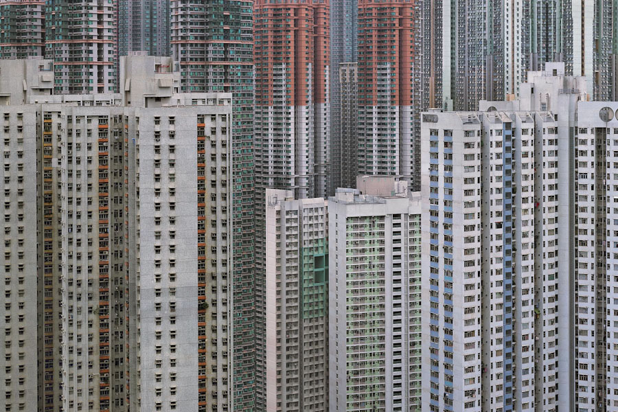 """Michael Wolf. """"Architecture of density #45"""""""