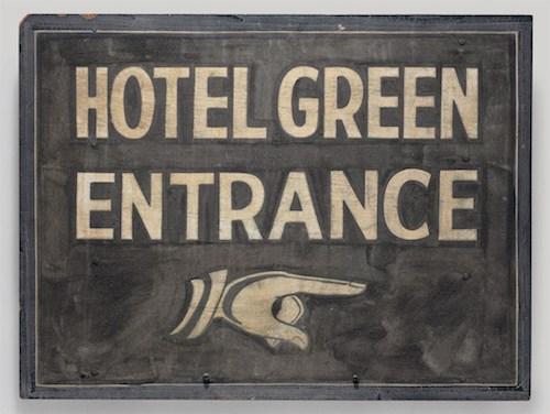 Марсель Дюшан. Подписанный знак (Signed sign), 1963, собрание Денниса Хоппера, Венеция (Калифорния)