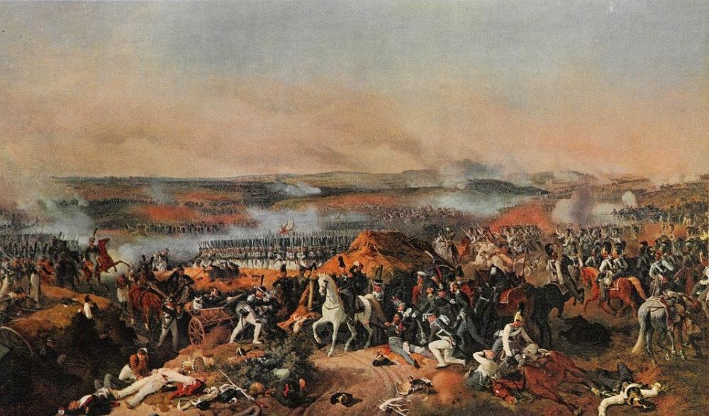 Петер фон Гесс. Бородинское сражение. 1843